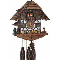 German Made Cuckoo Clocks Oktoberfest Beer Drinkers, 8 Day Musical Chalet Cuckoo Clocks - SavvyNiche.com