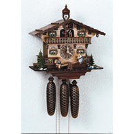 German Made Cuckoo Clocks Teeter Totter See Saw Boy and Girl Children, 8 Day Musical Chalet Cuckoo Clocks - SavvyNiche.com