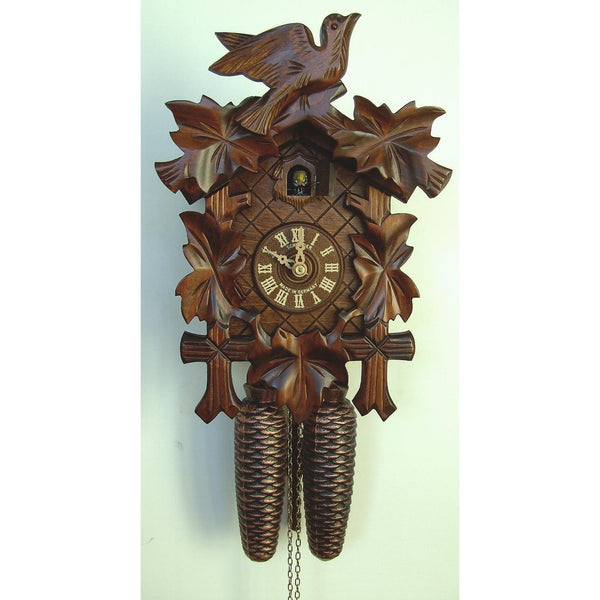 Cuckoo Clocks Leaves & Bird - Best Seller Germany, 8 Day Cuckoo Clocks - SavvyNiche.com