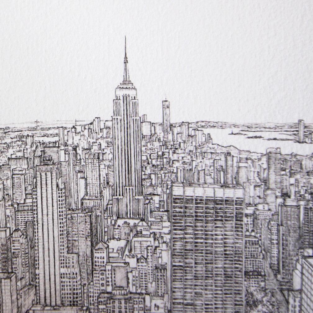 Empire State Building New York art print