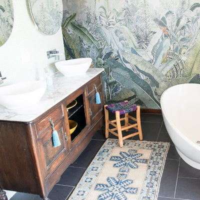 ALM Style Tip | Why Are Woollen Rugs Perfect For Bathrooms?