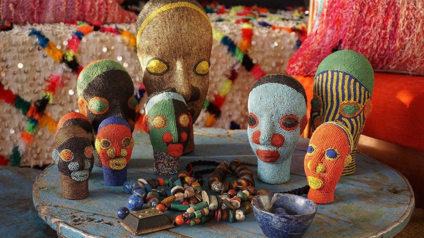 African Masks, Statues and Heads-A Little Morocco