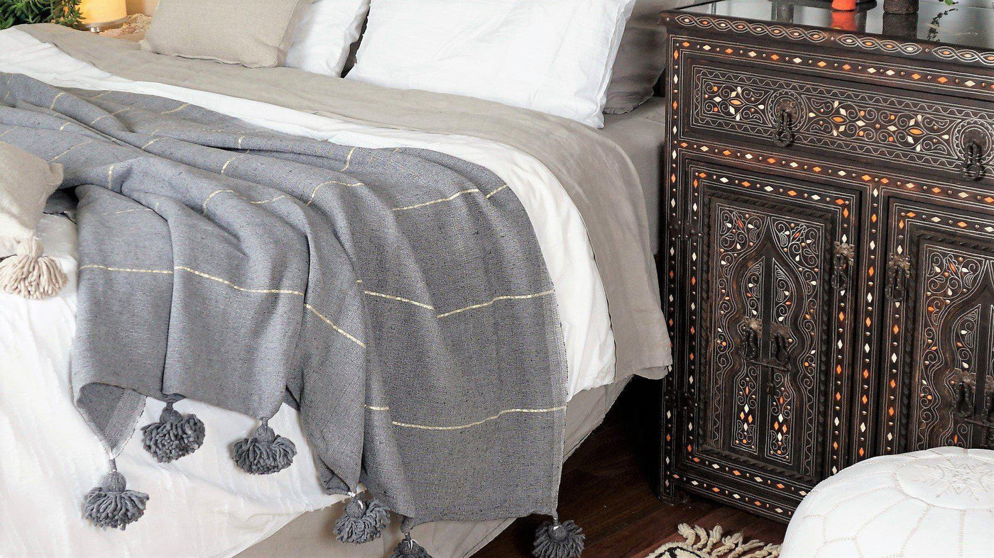 Blankets, Throws & Towels-A Little Morocco