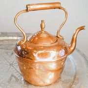 "A Little Morocco, Moroccan Vintage Teapot - ""Copper Kettle"" Large - Back"