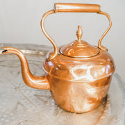 "A Little Morocco, Moroccan Vintage Teapot - ""Copper Kettle"" Large - Front"