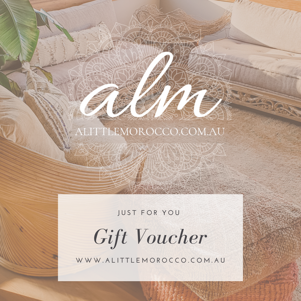 A Little Morocco Gift Voucher
