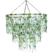 A Little Morocco - Malawi Chandelier Green