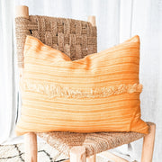 A Little Morocco, Handira Cushion Ginger Bolster Back