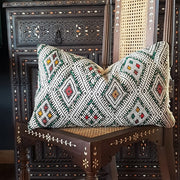 A Little Morocco, Moroccan Cushion - Vintage Kilim Atlas, Front
