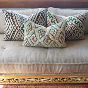 A Little Morocco, Moroccan Cushion - Vintage Kilim Atlas, styled