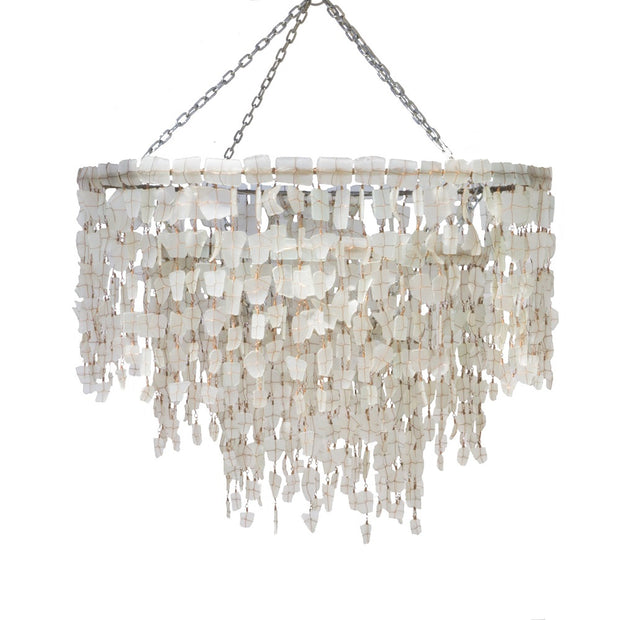 A Little Morocco - Malawi Chandelier White