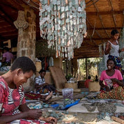 A Little Morocco, Malawi Chandelier Women Making