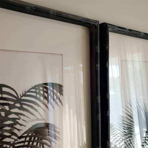 A Little Morocco, Plantation Palms - Framed Print Set Detail