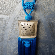 A Little Morocco Tassel Turquoise Souk Detail
