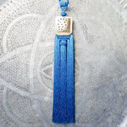 A Little Morocco Tassel Turquoise Souk Front