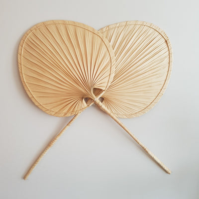 A Little Morocco, Palm Leaf Fan - Décor Double