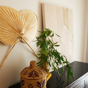 A Little Morocco, Palm Leaf Fan - Décor Styled