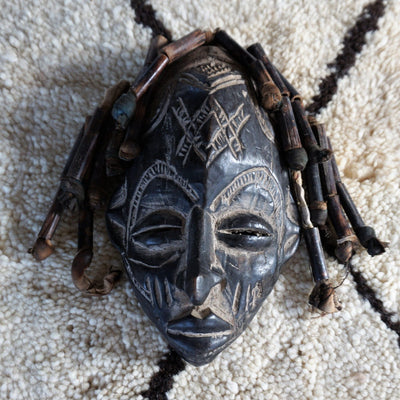 African Mask - Vintage Dreads 30cm-African Mask-A Little Morocco