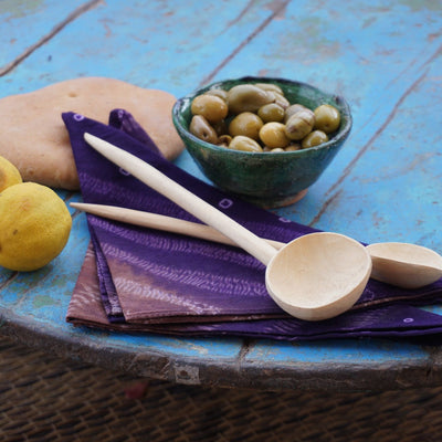 A Little Morocco, Lemonwood Spoons Styled