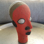 A little Morocco Cameroon Beaded Head - Tangerine King side