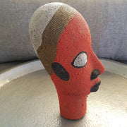 A little Morocco Cameroon Beaded Head - Tangerine King right side
