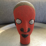 A little Morocco Cameroon Beaded Head - Tangerine King front