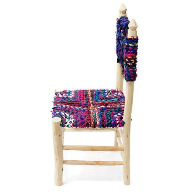 Chair - Boucherouite 90cm-Furniture-A Little Morocco