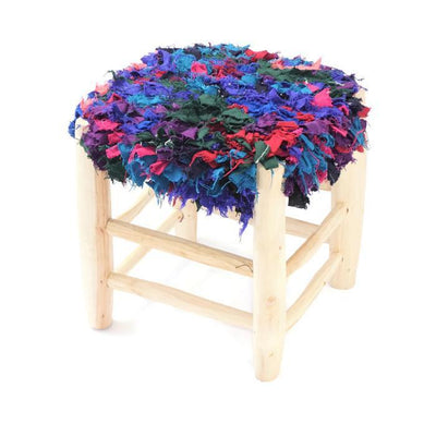 Chair - Boucherouite Stool 32cm
