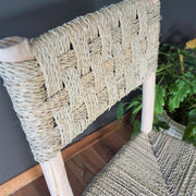 Chair - Rattan Highback Stool 110cm-Furniture-A Little Morocco