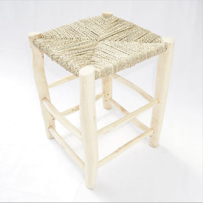 Chair - Rattan Stool 41cm-Furniture-A Little Morocco