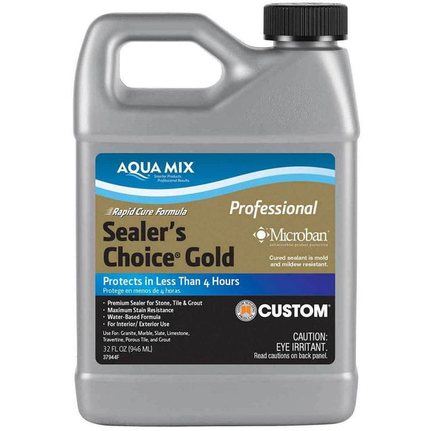 A Little Morocco, Tile Sealant Aqua mix Sealers Choice Gold