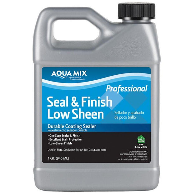Encaustic Tile Sealant - Aquamix Seal And Finish Low Sheen