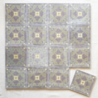 a little morocco encaustic tiles desert storm lay