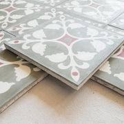 a little morocco encaustic tiles medina rose side view