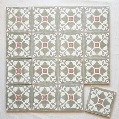 a little morocco encaustic tiles medina rose lay