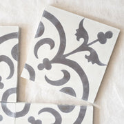 a little morocco, encaustic tiles natural classique single tile