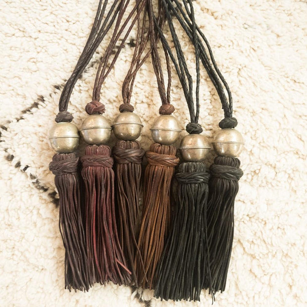 A Little Morocco, Leather Tassel Full Length