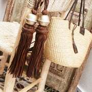 A Little Morocco, Leather Tassel Styled B