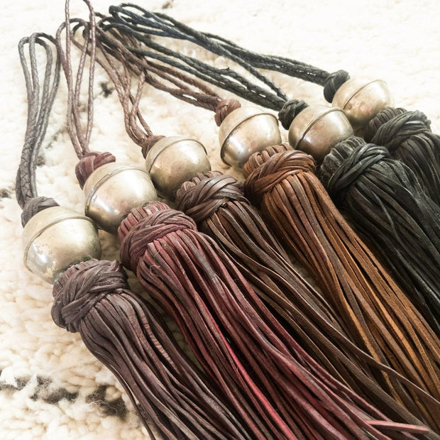 A Little Morocco, Leather Tassel Group