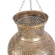 Light Shade - Metal Pinnacle Pendant Medium-Lights and Lanterns-A Little Morocco