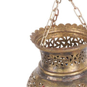 Light Shade - Metal Pinnacle Pendant Small-Lights and Lanterns-A Little Morocco