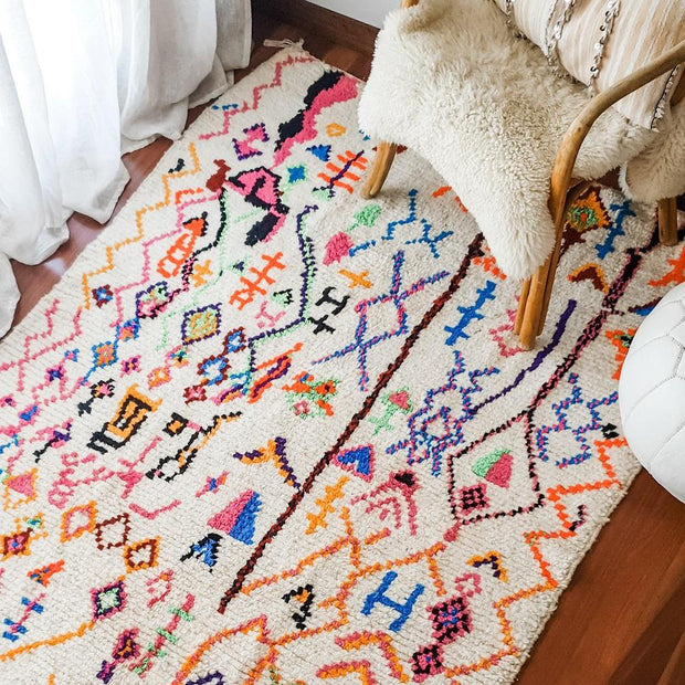 a little morocco moroccan azilal rug village styled