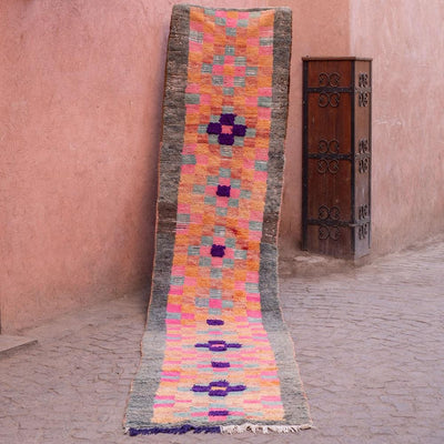a little morocco runner rug hopscotch front