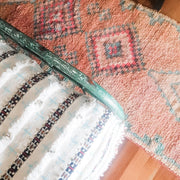 a little morocco boujaad runner rug detail