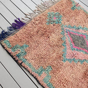 a little morocco boujaad runner rug detail b
