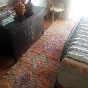 a little morocco boujaad runner rug styled