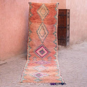 a little morocco boujaad runner rug front