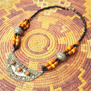 A Little Morocco Crescent Pendant Necklace Product Full