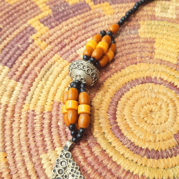 A Little Morocco Crescent Pendant Necklace Product Detail B