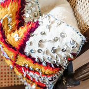 A Little Morocco, Moroccan Cushion Berber Star Motif Style A Detail